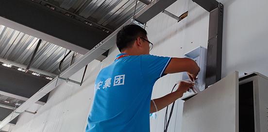 鑫安安防施工队伍