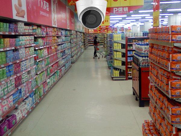 超市智能视频监控系统更安全实用,预警告警多功能并存