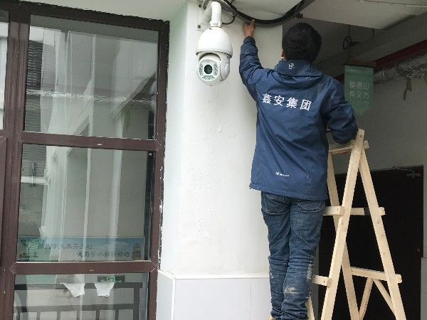 经开六小校园监控安防系统,鑫安安防监控系统保驾护航