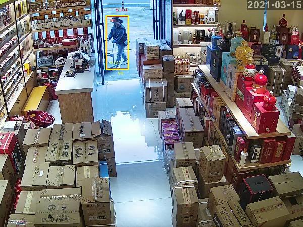 陕西鑫安安防超市安装视频监控系统